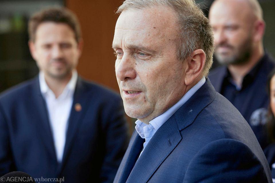 Wybory do europarlamentu 2019. Grzegorz Schetyna