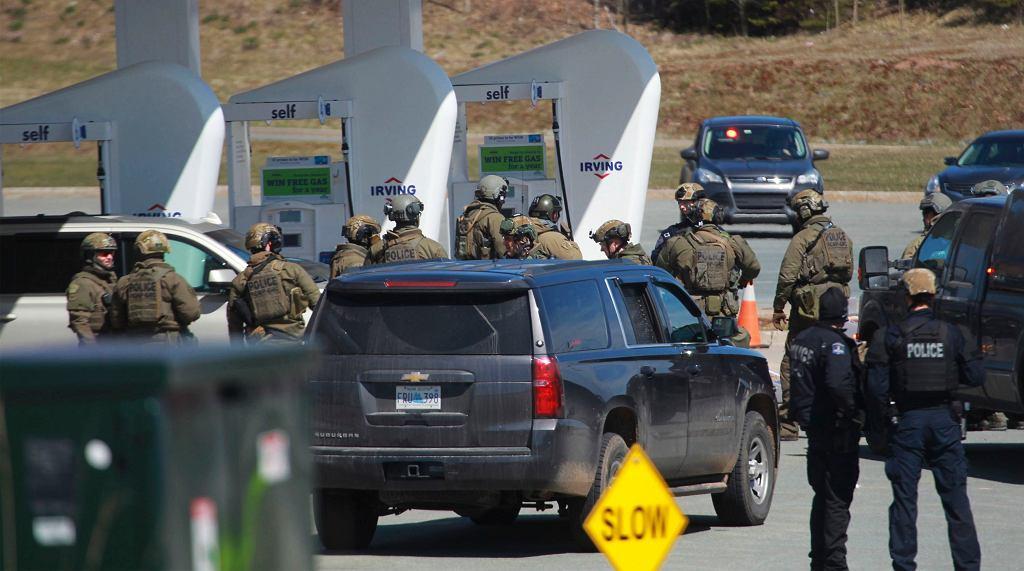 Strzelanina w Nowej Szkocji w Kanadzie.