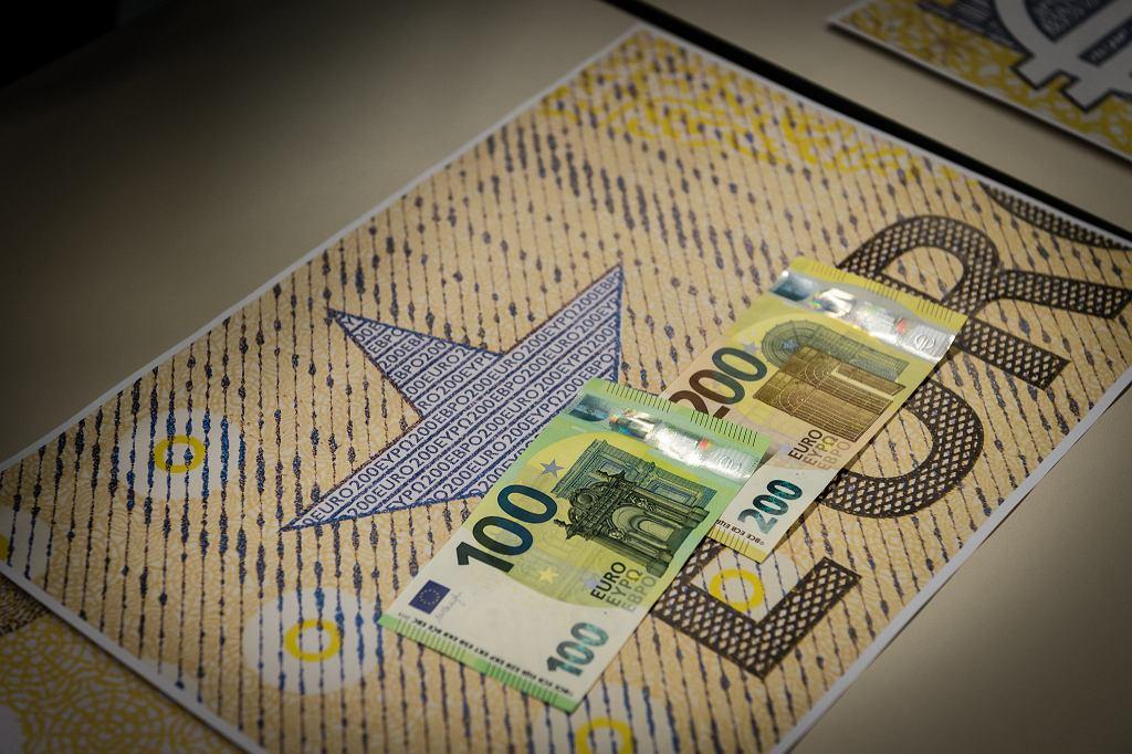 Banknoty strefy euro. (zdjęcie ilustracyjne)