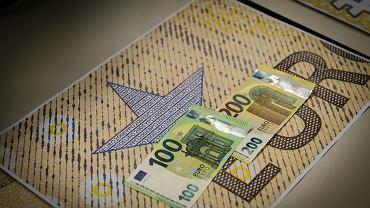 Nowe banknoty w strefie euro