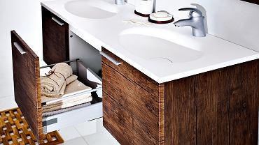 Umywalka z szafką z serii Sycylia od Antado