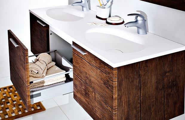 Umywalka z szafką - praktyczne rozwiązanie do łazienki