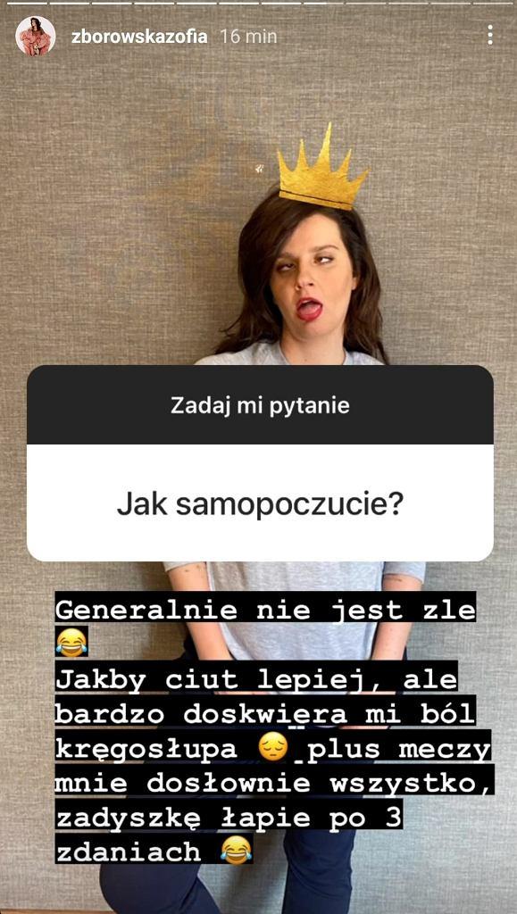Zofia Zborowska odpowiedziała na pytania fanów o ciążę