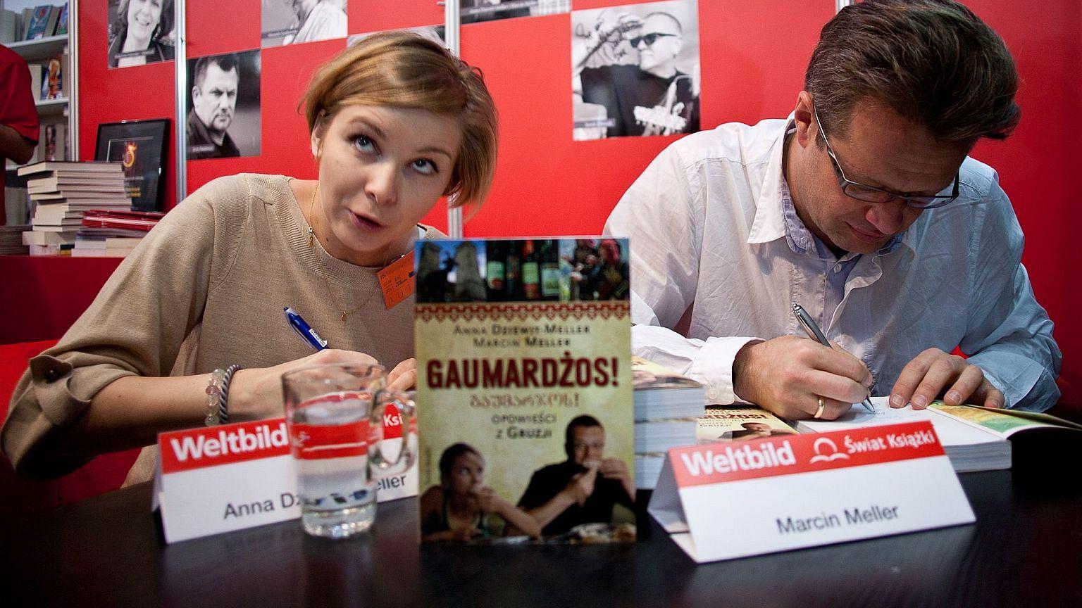 Anna Dziewit-Meller i Marcin Meller, rok 2011