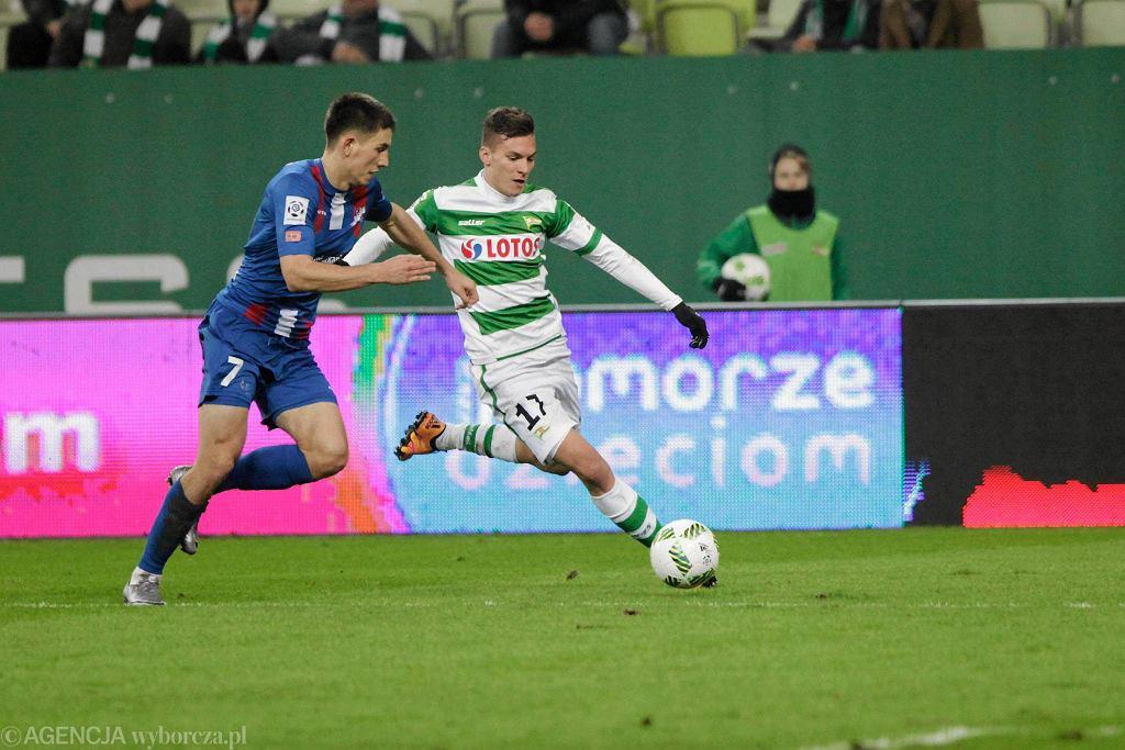 Lechia Gdańsk - Podbeskidzie Bielsko-Biała 5:0. Lukas Haraslin