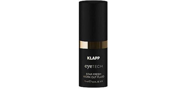 Star Fresh Work Out, odświeżający fluid do pielęgnacji okolic oczu, KLAPP