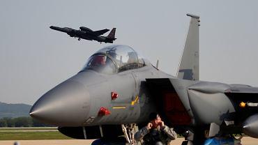 Pokaz amerykańskich sił nad Koreą