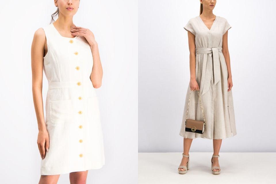 Lniane sukienki