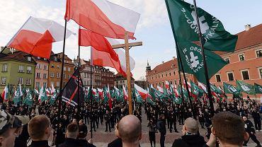 Marsz ONR-u w Warszawie