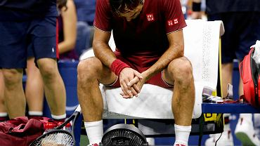 US Open 2018. Roger Federer