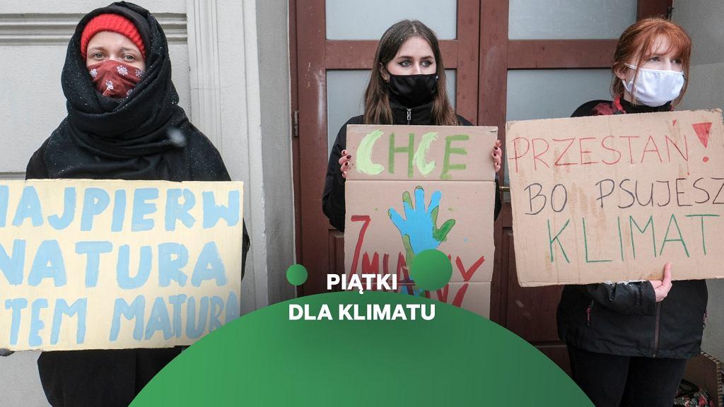 Protest klimatyczny (zdjęcie ilustracyjne)