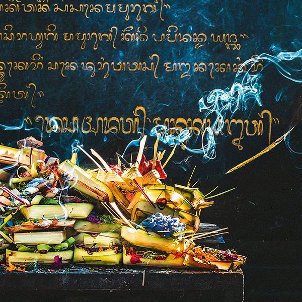 Bali, uliczne jedzenie