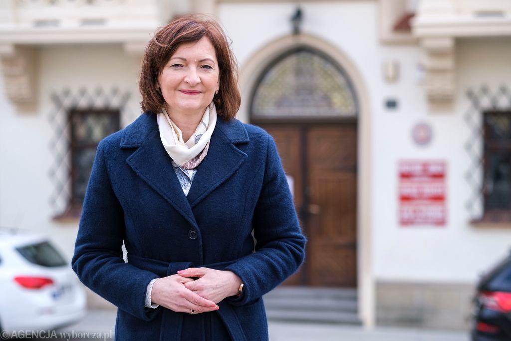 Ewę Leniart poparli w Rzeszowie prezydenci średnich miast: Zamościa, Chełma, Tomaszowa Mazowieckiego, Otwocka, Stalowej Woli