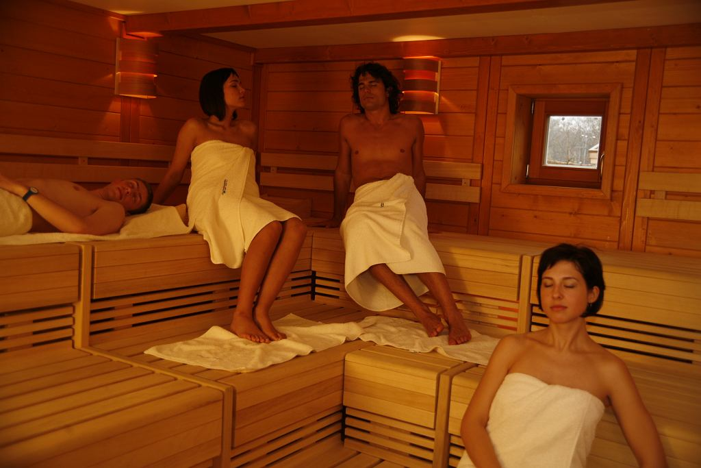 Sauna w Aqaparku Wrocław