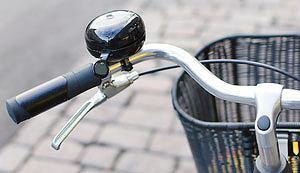 rowery, Przegląd stylowych miejskich rowerów, Dzwonek dingdong. Cena: 50 zł