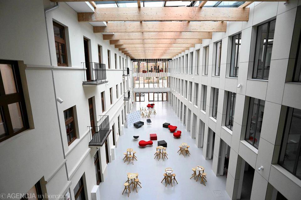 Centrum kreatywności na Pradze-Północ przy ul. Targowej