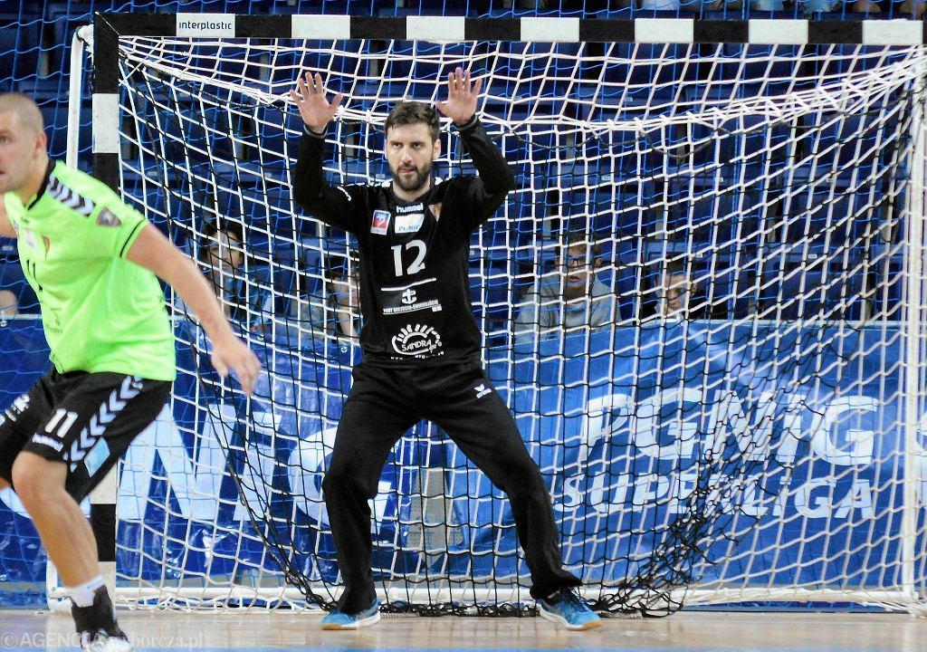 Edin Tatar z Pogoni Handball Szczecin