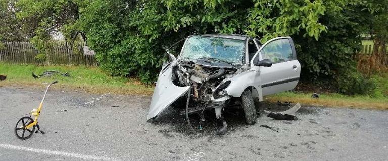 Tragiczny wypadek na Podkarpaciu. Zginął 54-letni kierowca