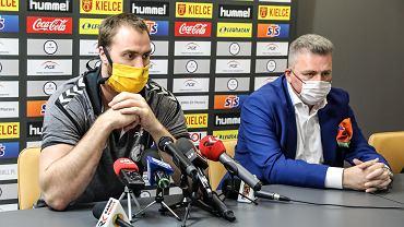 Specjalna konferencja prasowa, w której prezes Bertus Servaas ogłosił, że firma Vive nie będzie już sponsorem klubu