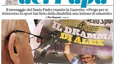 W środę 'La Gazetta dello Sport' opublikowała list papieża Franciszka do Alexa Zanardiego