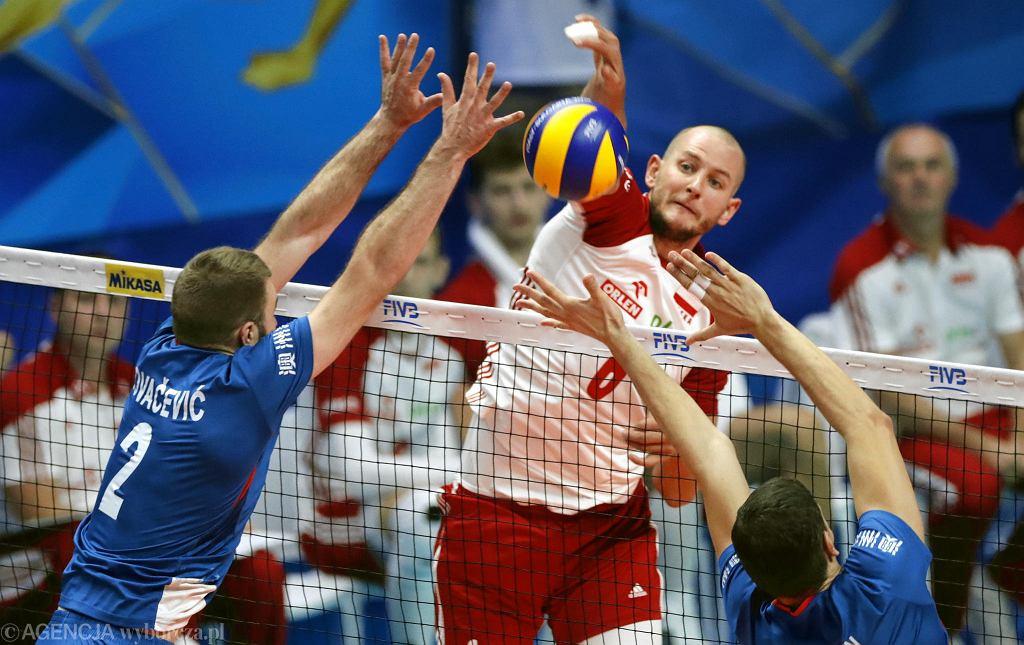 Bartosz Kurek w meczu z Serbią w Turynie zdobył 15 punktów