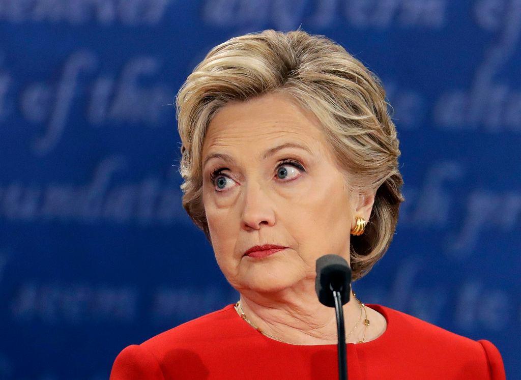 Hilary Clinton miała szczęście - Trump mimowolnie