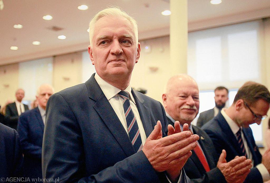 Inauguracja roku akademickiego na Politechnice Łódzkiej z udziałem m.in. Jarosława Gowina, ministra nauki i szkolnictwa wyższego.