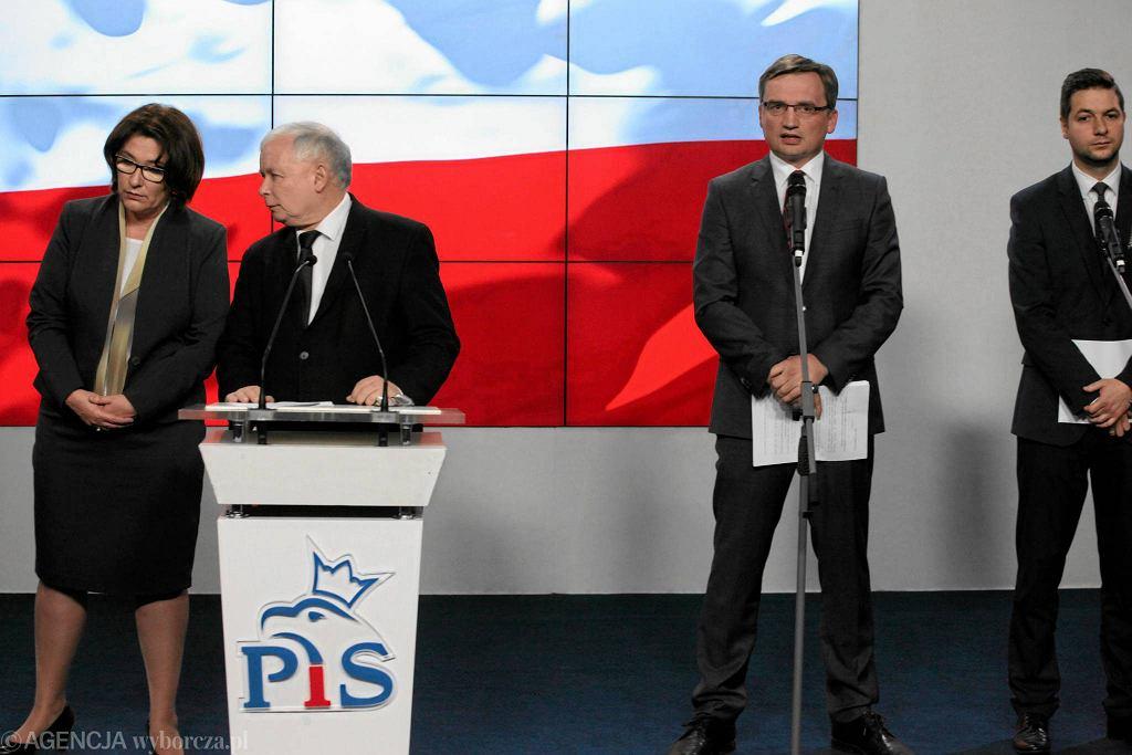 Konferencja PiS ws. ustawy o reprywatyzacji