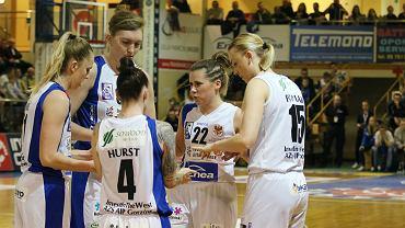 Basket Liga Kobiet, sezon 2017/18: AZS AJP Gorzów - Basket 90 Gdynia  77:75 (21:21, 24:23, 10:12, 22:19)