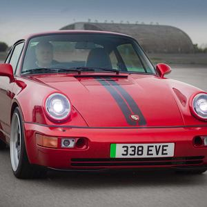 Porsche 911 z silnikiem elektrycznym