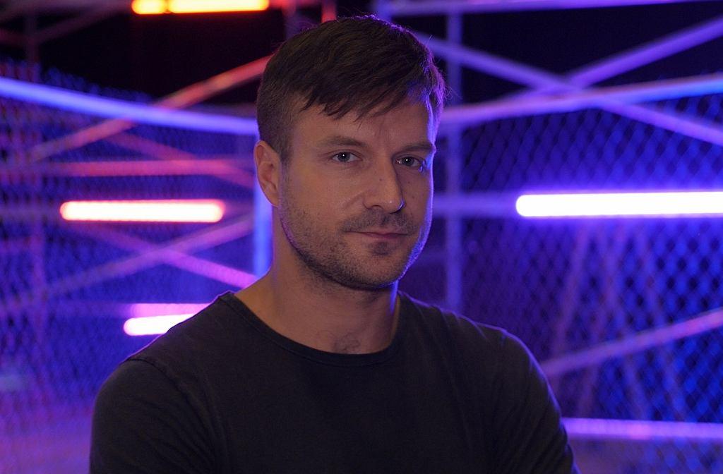 Piotr Stramowski w trakcie sesji promocyjnej serialu 'Ultraviolet 2.0'