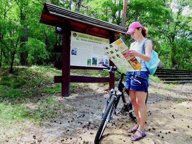 Trasa rowerowa wokół Kampinoskiego Parku Narodowego