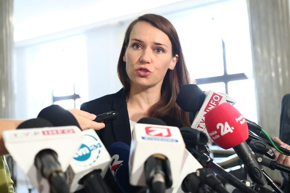 Posłanka PO Agnieszka Pomaska