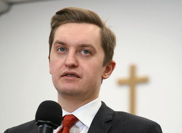Wiceminister sprawiedliwości Sebastian Kaleta