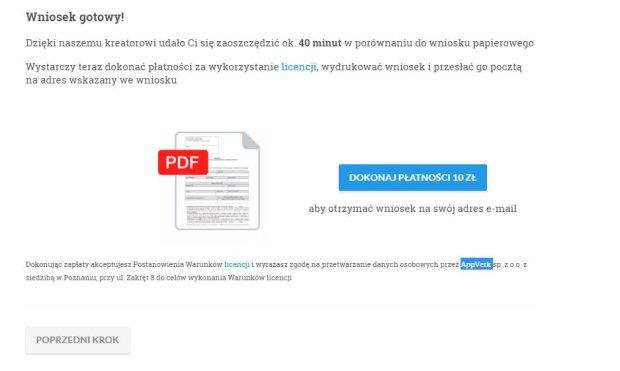 Wniosek PDF