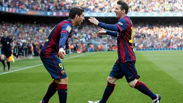 Barcelona - Valencia 2:0. Luis Suarez i Leo Messi