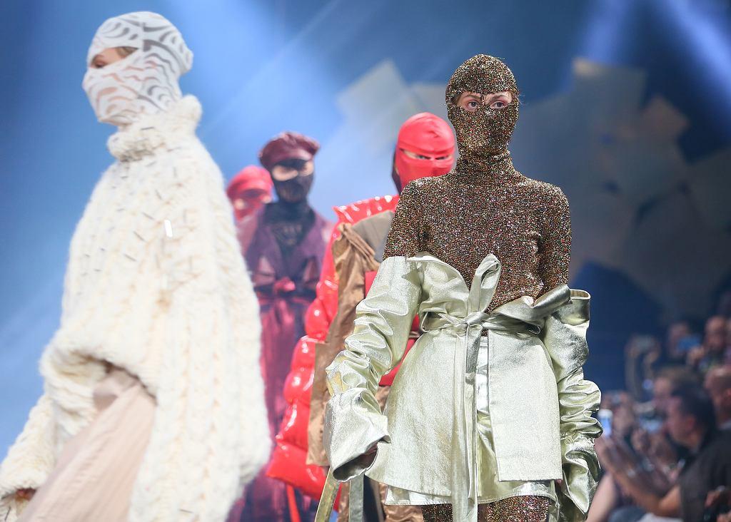 Pokaz Adriana Krupy podczas Złotej Nitki / Joanna Miklaszewska-Sierakowska