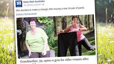 Okres menopauzy był trudny dla Carolyn.