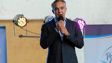 Właściciel i prezes Twardych Pierników, biznesmen Maciej Wiśniewski.