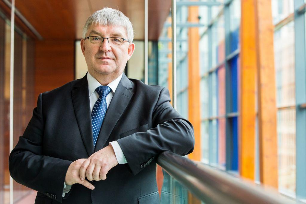 Jacek Krawczyk, przewodniczący grupy pracodawców EKES, wiceprezes Konfederacji Lewiatan