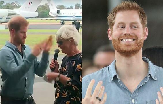 Książę Harry i Meghan Markle w Australii
