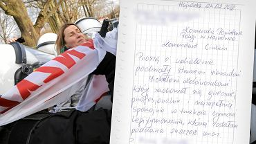 Trzeci Hajnowski Marsz Żołnierzy Wyklętych.