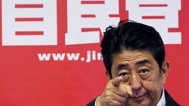 Japoński premier Shinzo Abe