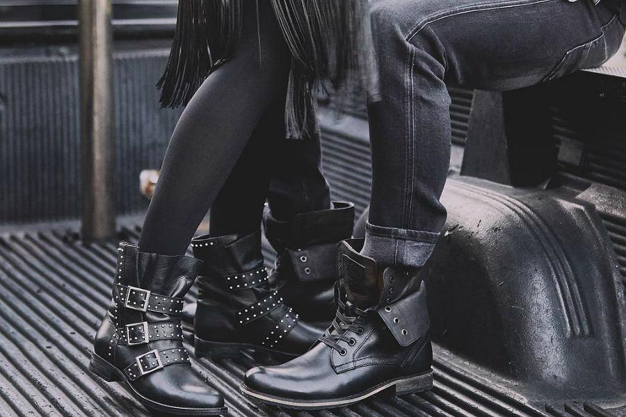 33b250c7608a0 Najmodniejsze buty na chłodne dni! Botki, kozaki i nie tylko. Wiele modeli  z wyprzedaży!