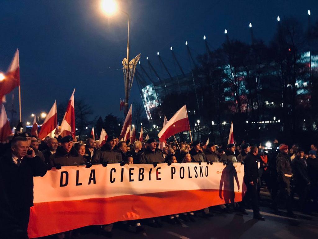 Marsz 'Dla Ciebie Polsko'