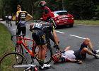 Tour de France. Uran zwycięzcą dramatycznego 9. etapu. Majka raczej wycofa się z wyścigu