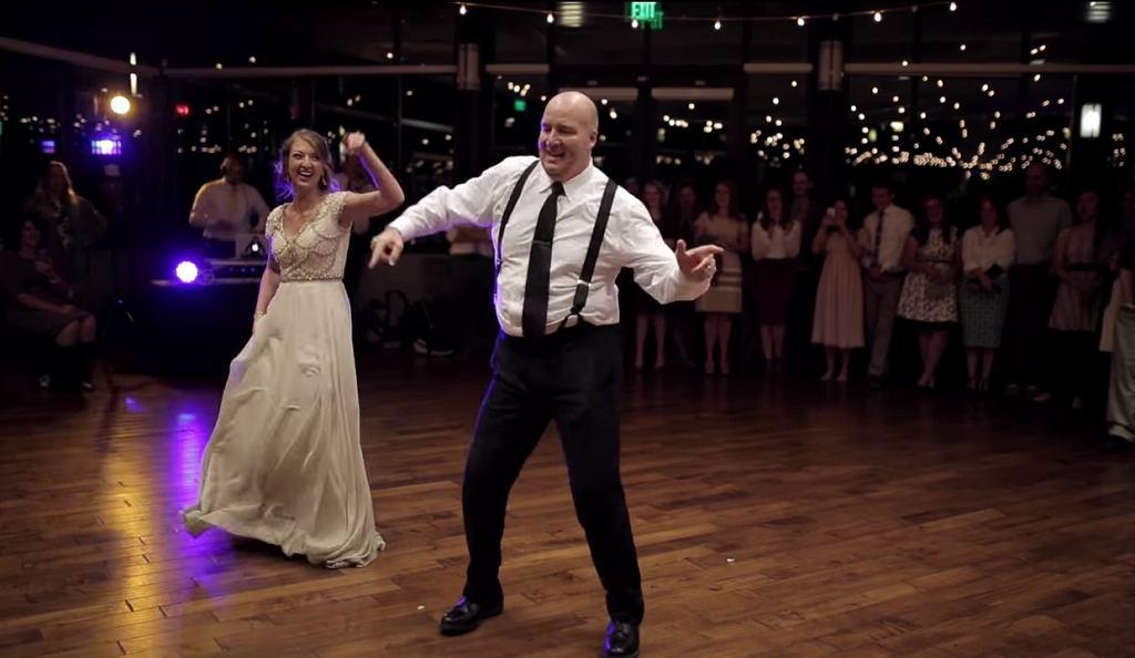 Taniec córki z ojcem