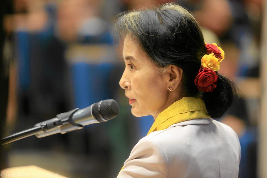 Uniwersytet Warszawski. Wyklad Aung San Suu Kyi