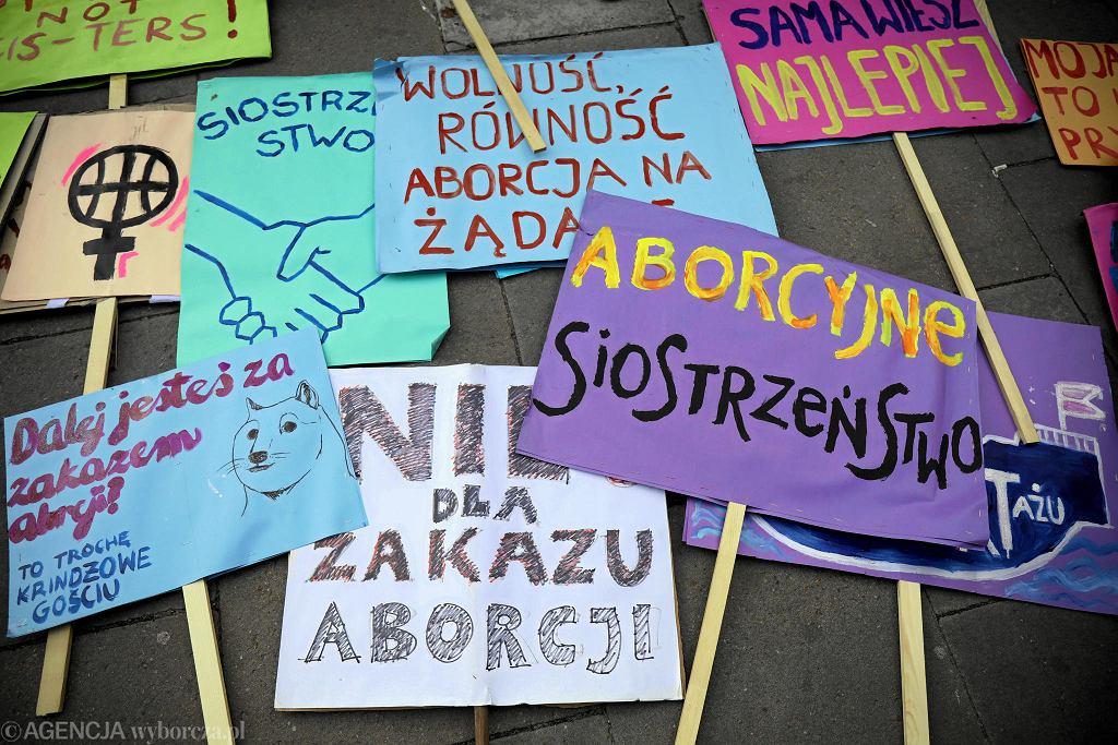 II Marsz Pro Choice w Warszawie