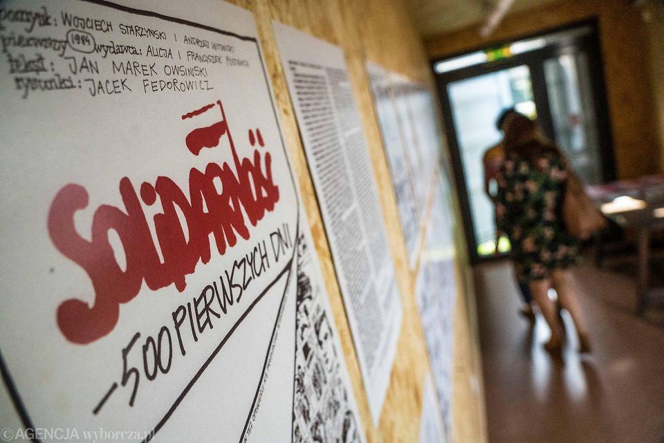Zdjęcie numer 1 w galerii - Do Bydgoszczy przyjechała mobilna wystawa tajnej drukarni toruńskiej Solidarności
